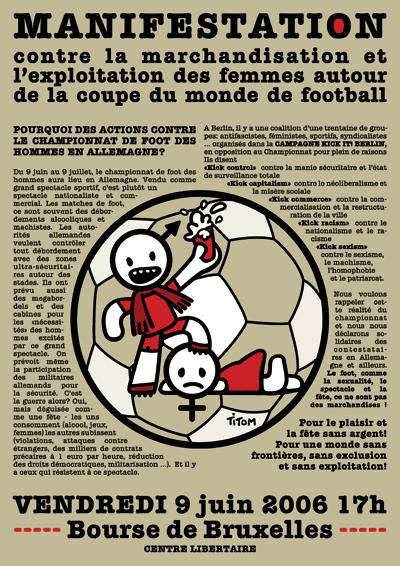 Attac bruxelles 1 - Coupe du monde de foot 2006 ...